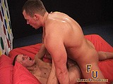 Gay Porn from nakedfrathouse - Muscle-Stud-Destroys-Twink