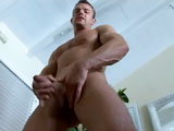 Gay Porn from CollegeDudes - Logan-Holmes-Busts-A-Nut