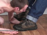 From JeansFetishPorn - Slave-Lick-Boots