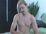 Gay Porn from straightboysjerkoff - Clay-Solo-Jerking