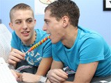 Gay Porn from GayLifeNetwork - 2-Boys-1-Lollipop