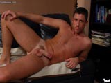 Gay Porn from badpuppy - Muscle-Hunk-Jerking-Away