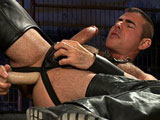 Gay Porn from buttmachineboys - Leather-Daddy-Nick-Moretti