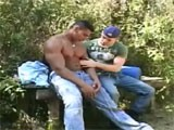 Gay Porn from WankOffWorld - Jungle-Outdoor-Backpackers