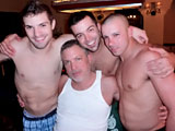 Gay Porn from OnTheHunt - Pool-Table-4-way