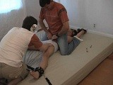 Gay Porn from LaughingAsians - Gang-Tickle-Ezra