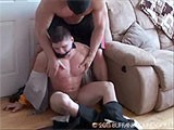 Gay Porn from buffandbound - Bam-Bam-Hog-Tie