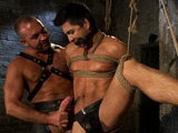 Josh-West-And-Dominic-Pacifico - Gay Porn - boundgods