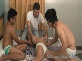 Gay Porn from LaughingAsians - Gang-Tickling-Zach
