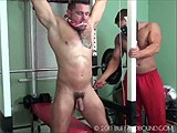 Gay Porn from buffandbound - Ronnie-Jay-Gym-Bound