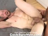 Gay Porn from CocksureMen - Josh-And-Adam