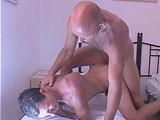 Daddy Fucks Horny Stud
