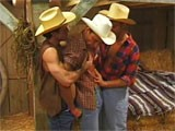Gay Porn from StrongMen - Three-Cowboys
