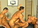 Gay Porn from mountequinox - Doubled-Stuffed-Muscle-Hunk-E