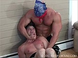 Gay Porn from buffandbound - Mike-Antony-Wrestling-Jock