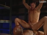 Gay Porn from TitanMen - Black-And-White:-Scene-2