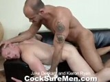 Gay Porn from CocksureMen - Jake-And-Kieron