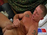 Army-Stud-Plays-With-His - Gay Porn - AllAmericanHeroes