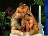 Trio Muscle X Sex - Strong Men