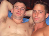 Gay Porn from CollegeDudes - Aaron-James-Fucks-Luke-Stevens
