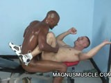 Gay Porn from MagnusMuscle - Interracial-Anal-Sex-Exercise