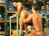 Gay Porn from StrongMen - Rimming-His-Muscular-Butt