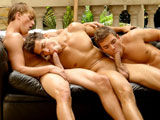Gay Porn from BelAmiOnline - Mick-Lovell-And-Kris-Evans-And-Colin-Hewitt