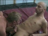 Gay Porn from GermanCumPigz - Hardcore-Double-Fuck