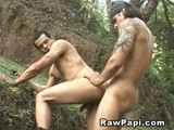 From Rawpapi - Men-In-Uniform-Outdoor-Sex