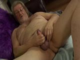 Chubby Daddy Jerking Off
